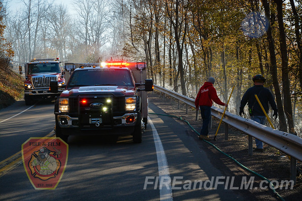Schuylkill County - E. Union Twp. - Brush Fire - 11/23/2017