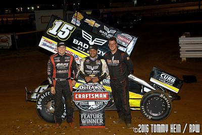 Lincoln Speedway - WoO Sprints - 5/19/16 - Tommy Hein