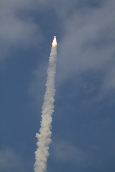 Atlantis, T plus 38 seconds after liftoff
