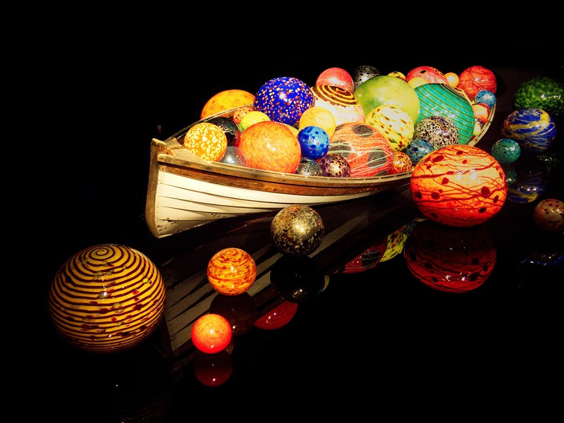 Chihuly Glass, Float Boat.