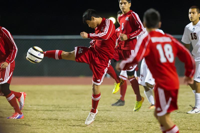 January 21, 2014 - Boys Soccer - Juarez-Lincoln vs Palmview_dy