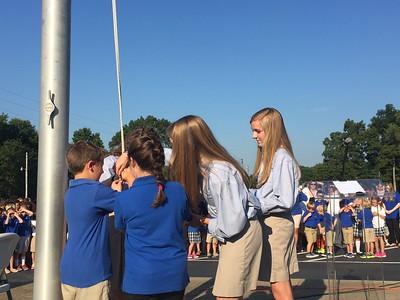 2015 Raising the Flag Ceremony