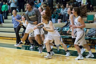 Girls Basketball February 16, 2016