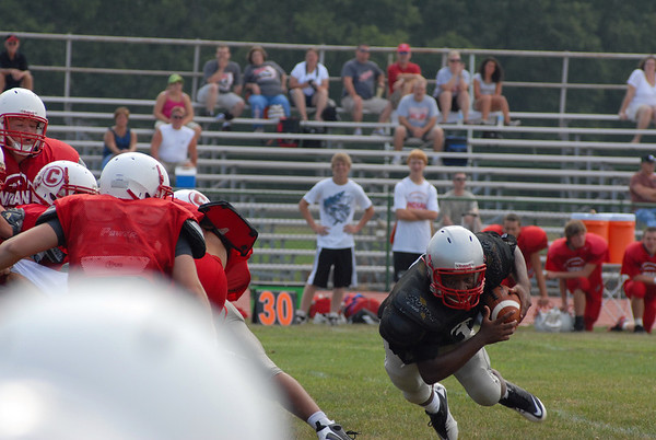 Stebbins Football 2010 Scrimmage 1