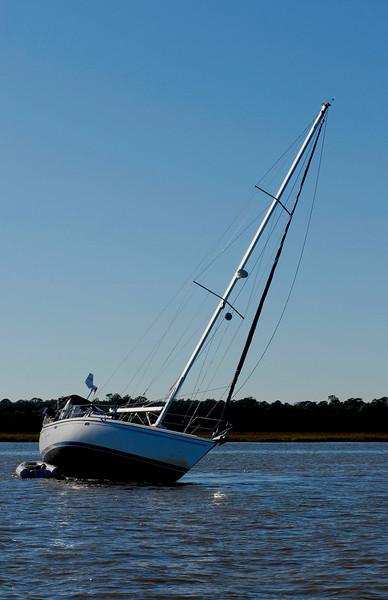 DK Sailboat Salvage 11-17-08