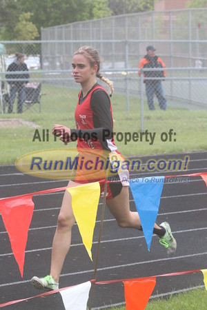 UP Girls' 1600 Meter Run - 2015 MHSAA TF Finals