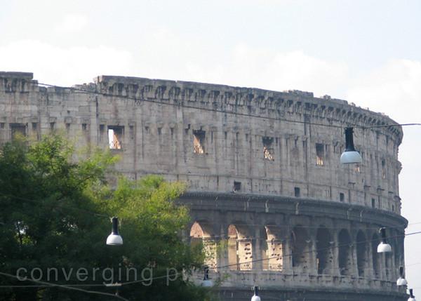 The Coliseum, Rome,ITaly