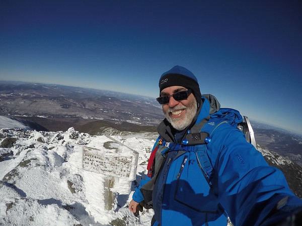 3/18/17 - Mt Madison and Mt Adams in Winter