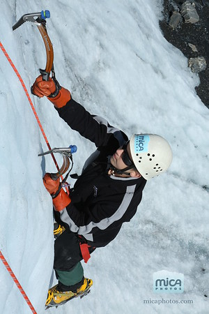Private Ice Climb with Brett and Lizzie