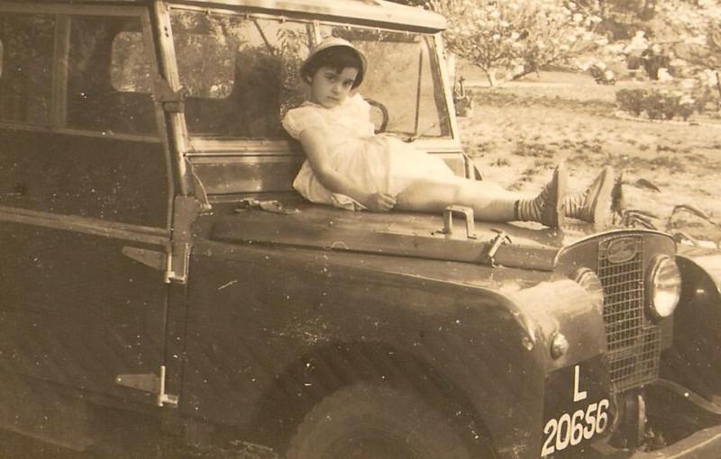 Fucauma: Maria Joao Piedade no Land Rover