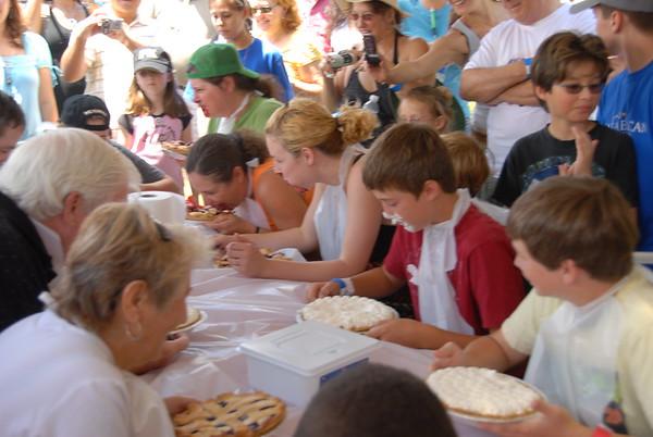 American Pie Festival Pie Eating Contest 4-20-08