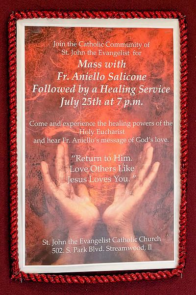 2014-07-25 Fr Aniello Salicone Healing Mass & Service