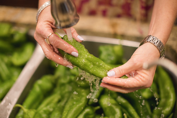 Fresh Hatch Green Chile + Cooking with Randy & Carol
