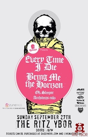 Every Time I Die September 27, 2009