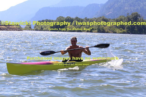 July 5, 2014 Paddling at the Eventsite