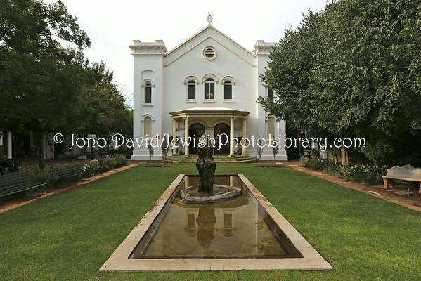 SOUTH AFRICA, North West, Potchefstroom. Potchefstroom Synagogue (former) (2.2013)