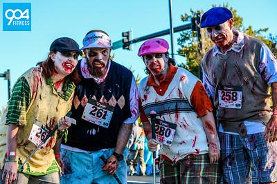 Arlington Toyota Kids Fitness Zombie Chase 2014