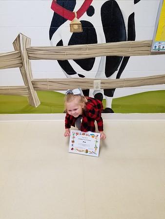 Ava's preschool celebration 2016