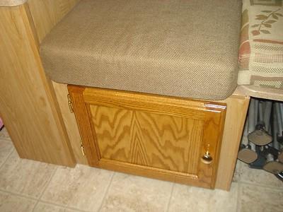 Door to Storage and Storage Modifications