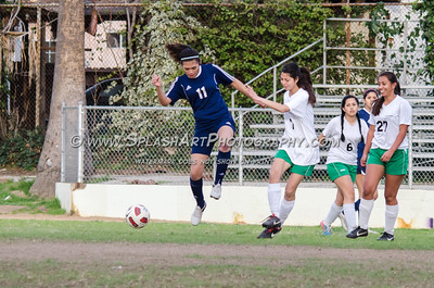 2016 Soccer Eagle Rock Girls vs Franklin 27Jan2016