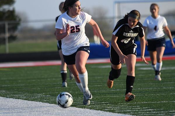 Varsity Girls Soccer vs Beatrice