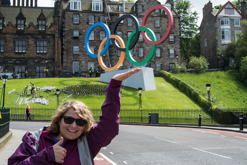 The Scots didn't have an olympic team; they were part of the UK team