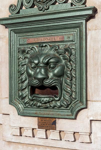 Ornate Post Box, Spain