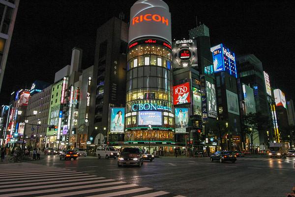 Tokyo night - August 2007