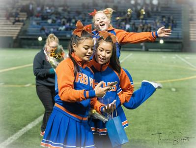 Cheer Senior Night Shots - Oct 5th