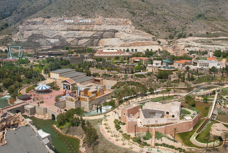 Terra Mitica in Benidorm, Spain