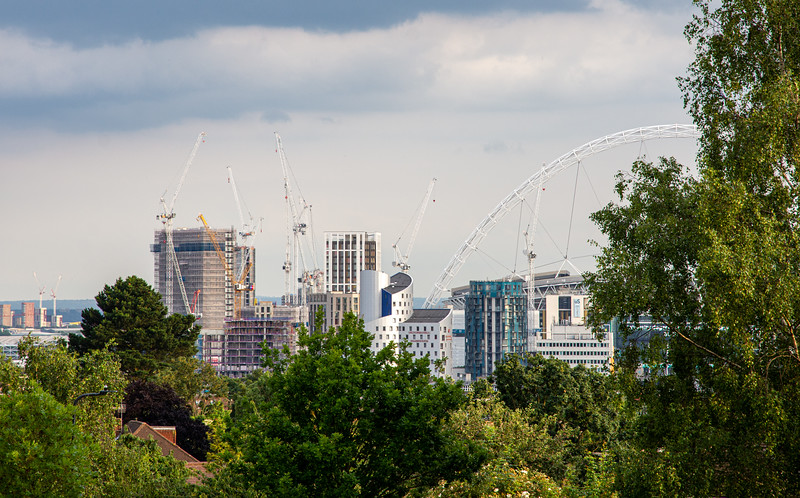 Wembley Park from Barn Hill