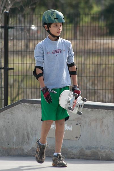 Joe Jamail Skate Park - Jessie