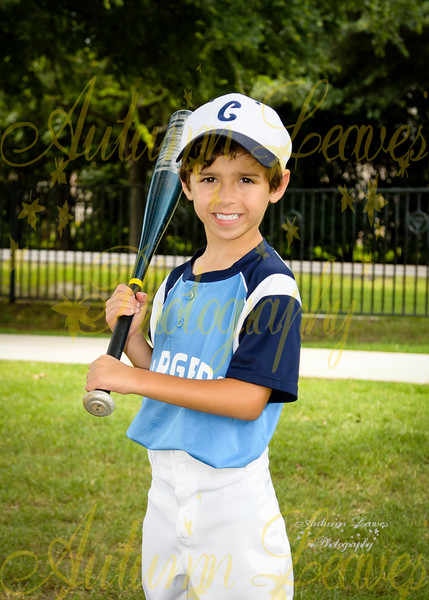 KB Shelton Chargers - TNYMCA Tball Spring 2016