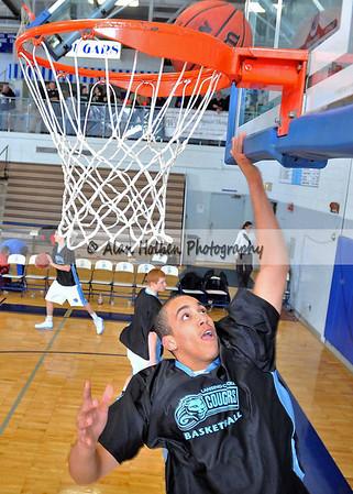 Boys Varsity Basketball - Ionia at Lansing Catholic - Jan 25