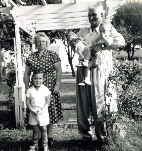 1940s Florence Konyha with Marvin and Tony with two babies.jpeg