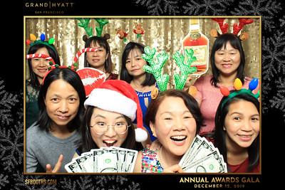 Grand Hyatt Annual Awards Gala (Booth 2) - December 12, 2019