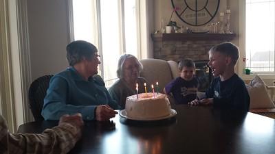 Aunt Judy's Birthday