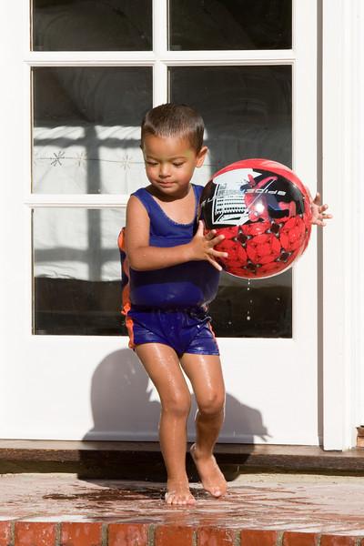 Jayden has a ball