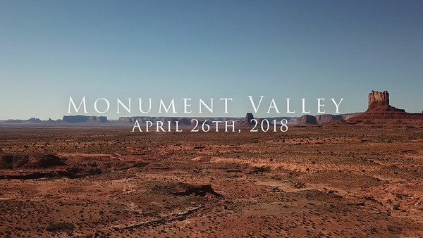 2018/04/26 - Monument Valley