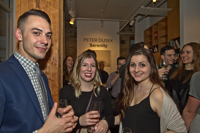 Global private reception at Abbozzo Gallery on May 10, 2017