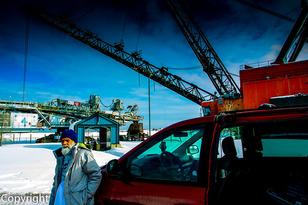 Maama Jee in Oil Fields of Fort McMurray