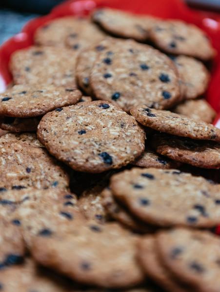 Oatmeal Currant cookies (tartine)