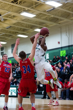 2/19/16 - Atholton Boys varsity Basketball vs Centennial