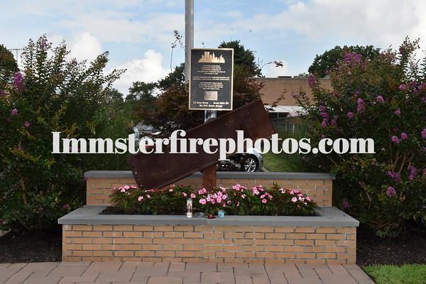 WESTBURY FD 9-11 MEMORIAL DEDICATION CEREMONY 9-12-15