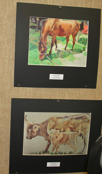 Rodeo Art Winners 1/15/2013