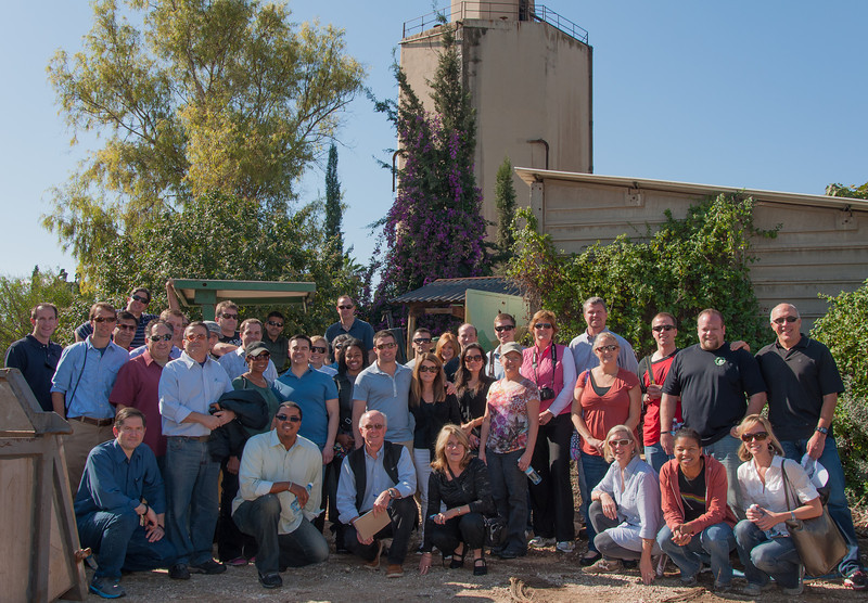 University of Denver, Daniels College of Business, Executive MBA cohort 58 at Kibbutz Ramat Yohanan in Israel.
