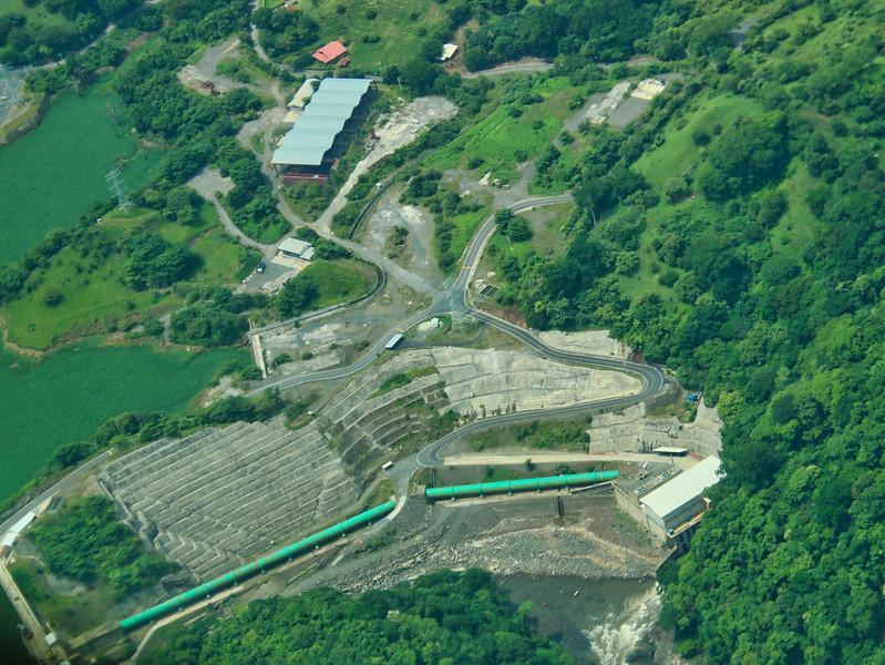 Planta Hidroelectrica Chucas en Alajuela
