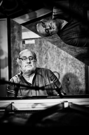 Emler Tchamitchian Echampard à la péniche l'Improviste le 21 septembre 2012
