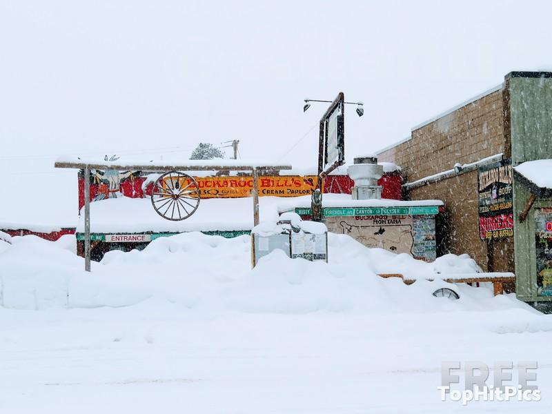 Buckaroo Bills BBQ Grill, West Yellowstone, Montana, USA