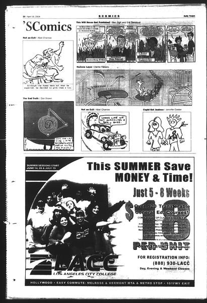 Daily Trojan, Vol. 151, No. 59, April 19, 2004